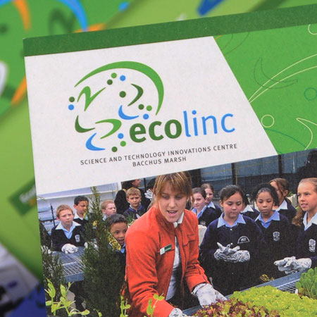 ecolinc: Identity and promotional material